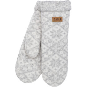Sätila of Sweden Grace Mittens Silver Grey